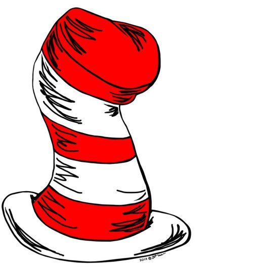 small resolution of 870x919 cat in the hat clipart clipartlook