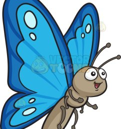 823x1024 a pretty butterfly with two tone blue wings cartoon clipart [ 823 x 1024 Pixel ]