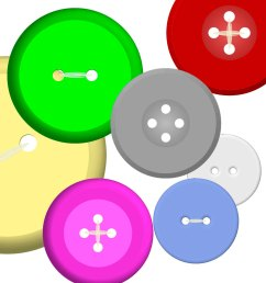 1500x1500 buttons clipart clip art instant digital download 120 digital [ 1500 x 1500 Pixel ]