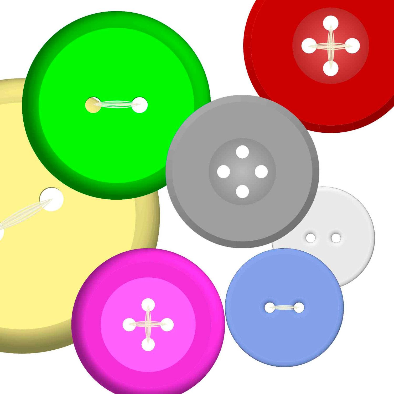 hight resolution of 1500x1500 buttons clipart clip art instant digital download 120 digital
