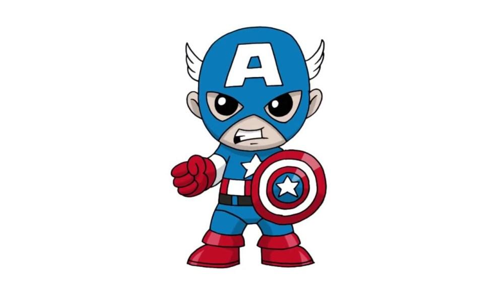 medium resolution of 1280x720 exquisite captain america cartoon 26 png clip art image png m