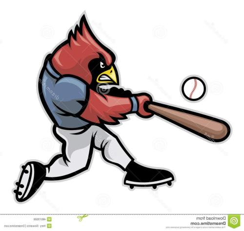 small resolution of 1300x1233 unique cardinal baseball vector player mascot hitting ball cdr