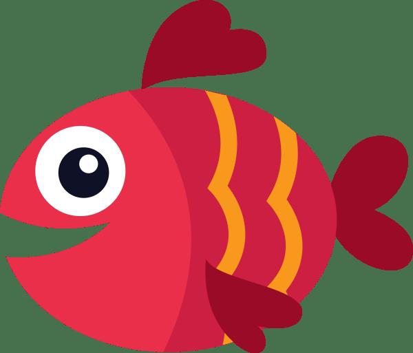Transparent Fish Clip Art