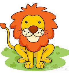 1024x1024 free clipart cartoon lion [ 1024 x 1024 Pixel ]