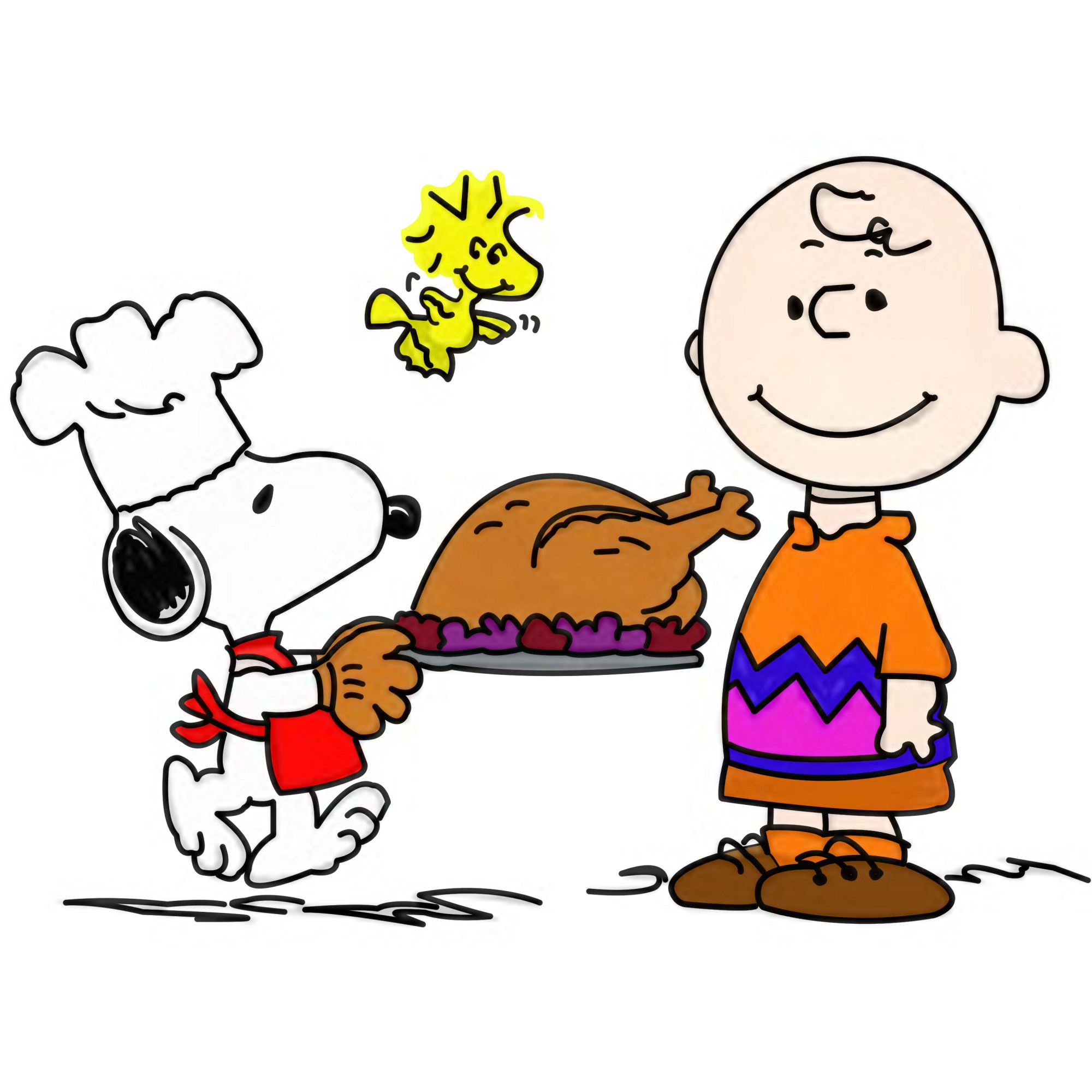 hight resolution of 3000x3000 collection of peanuts thanksgiving clipart high quality