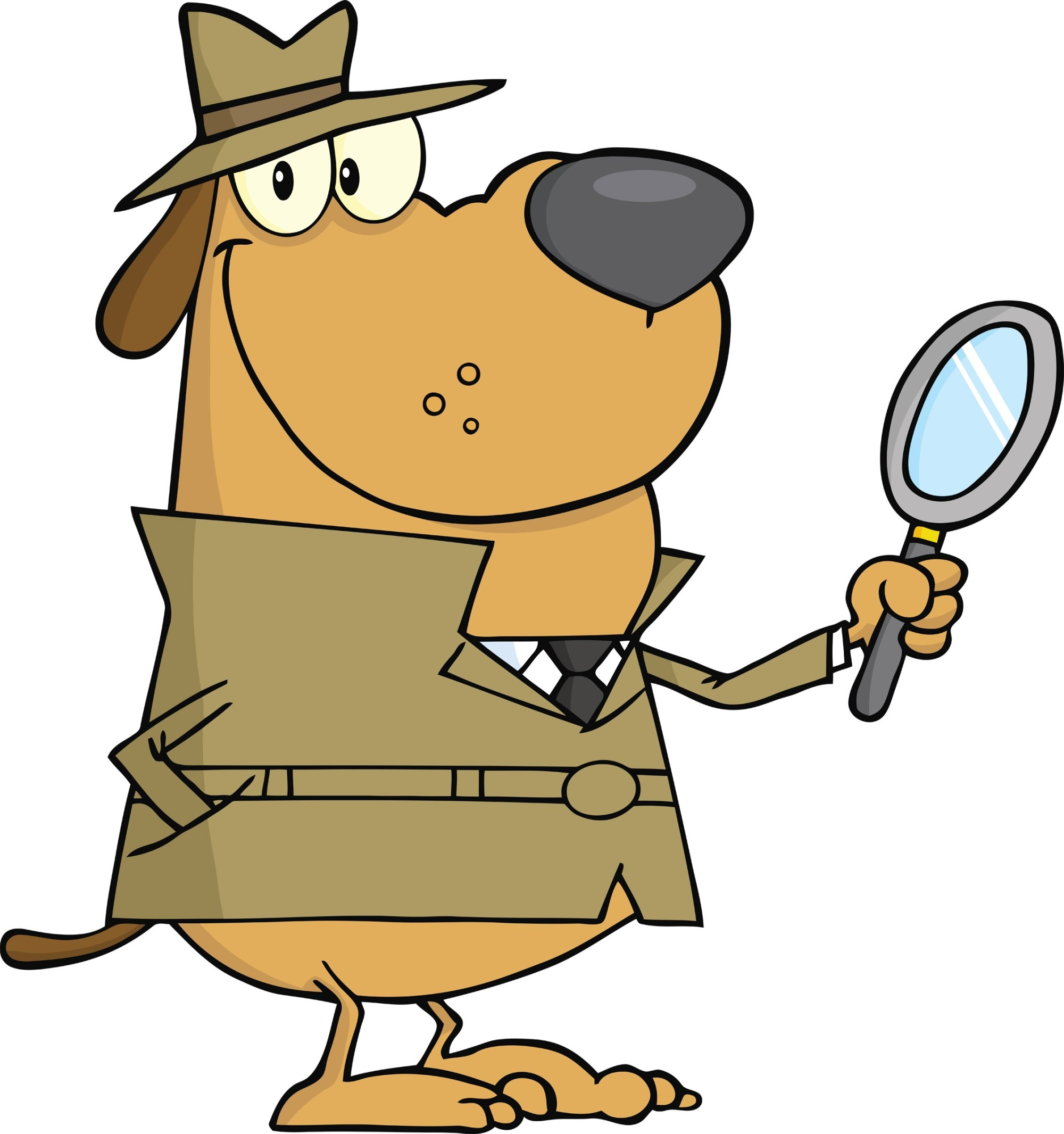 hight resolution of 2252x2400 detective clipart cat dog