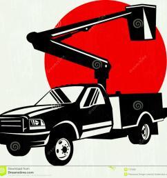 1300x1303 bucket truck clipart clip art [ 1300 x 1303 Pixel ]