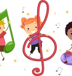 6154x4187 kids singing and dancing clipart [ 6154 x 4187 Pixel ]