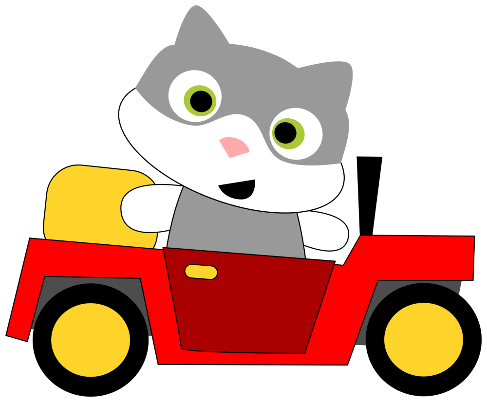 medium resolution of 2400x1983 a cat driving a car icons png