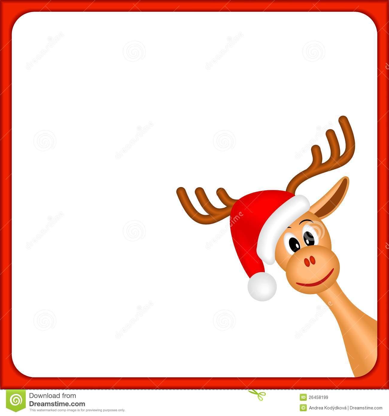 hight resolution of 1300x1390 reindeer border clip art 101 clip art