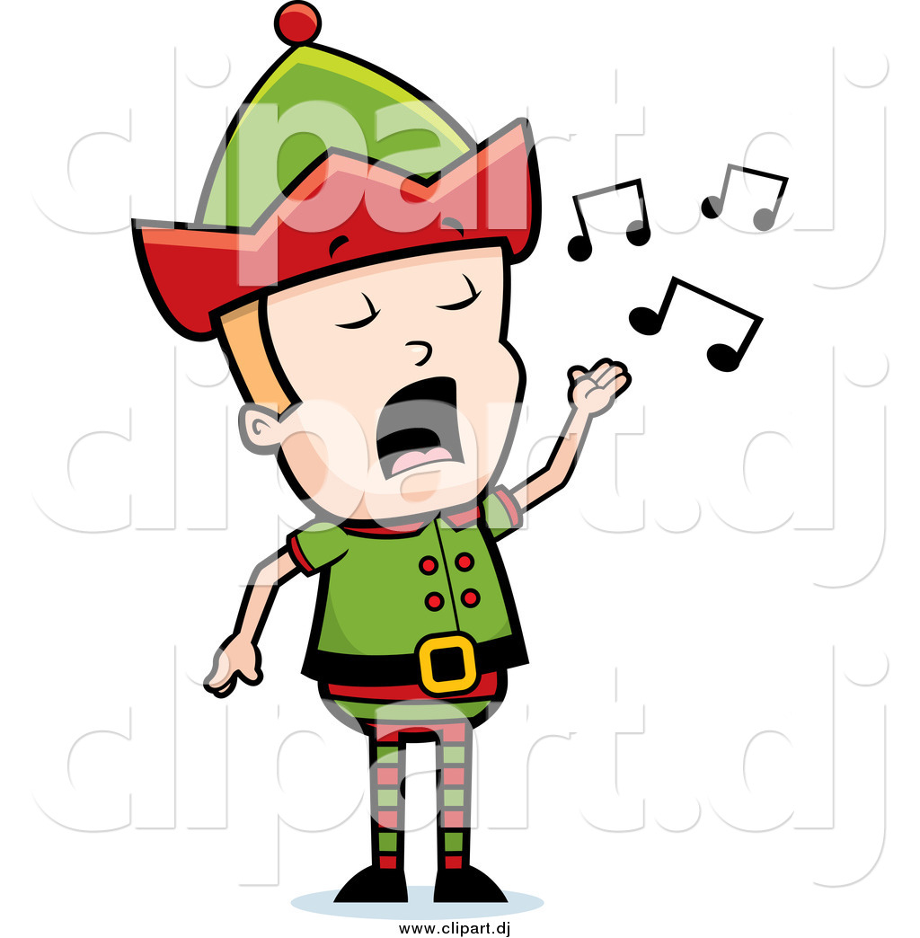 christmas elf clipart at
