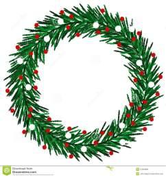 christmas wreath clipart [ 1300 x 1390 Pixel ]