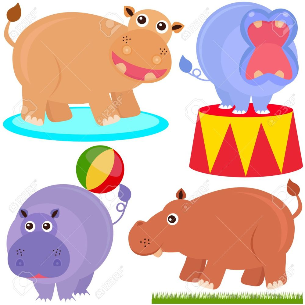 medium resolution of 1300x1300 hippo clipart circus free collection download and share hippo