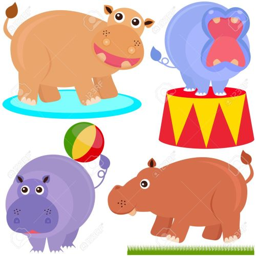 small resolution of 1300x1300 hippo clipart circus free collection download and share hippo