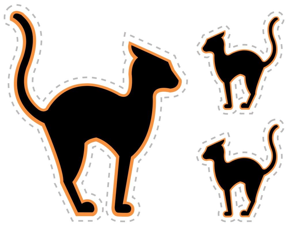 medium resolution of 3168x2477 black cat clipart halloween decoration