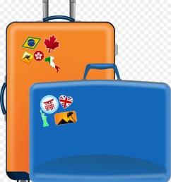 900x1040 suitcase baggage travel clip art [ 900 x 1040 Pixel ]