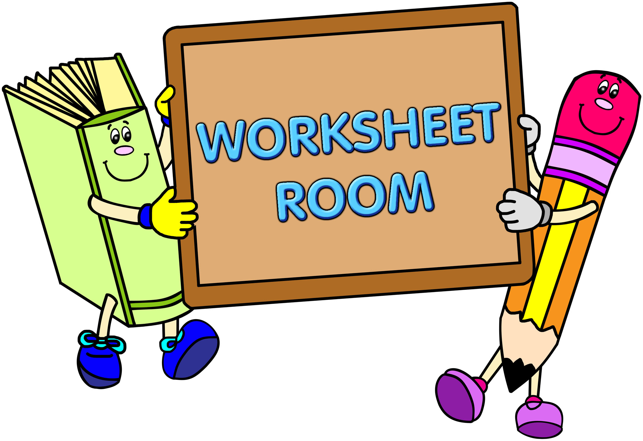 Clipart Worksheet At Getdrawings