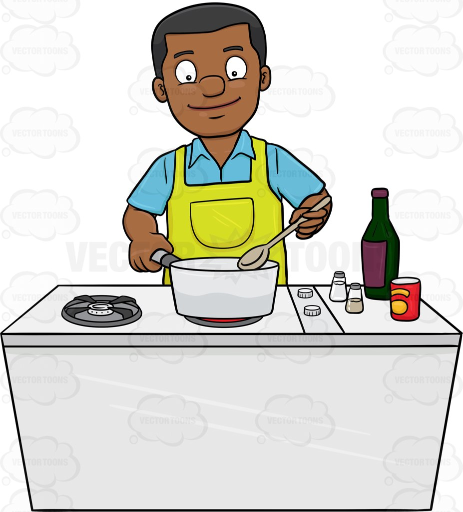 hight resolution of 927x1024 man cooking clipart 101 clip art