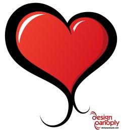 2000x2182 illustrated vector heart free vector 4vector [ 2000 x 2182 Pixel ]