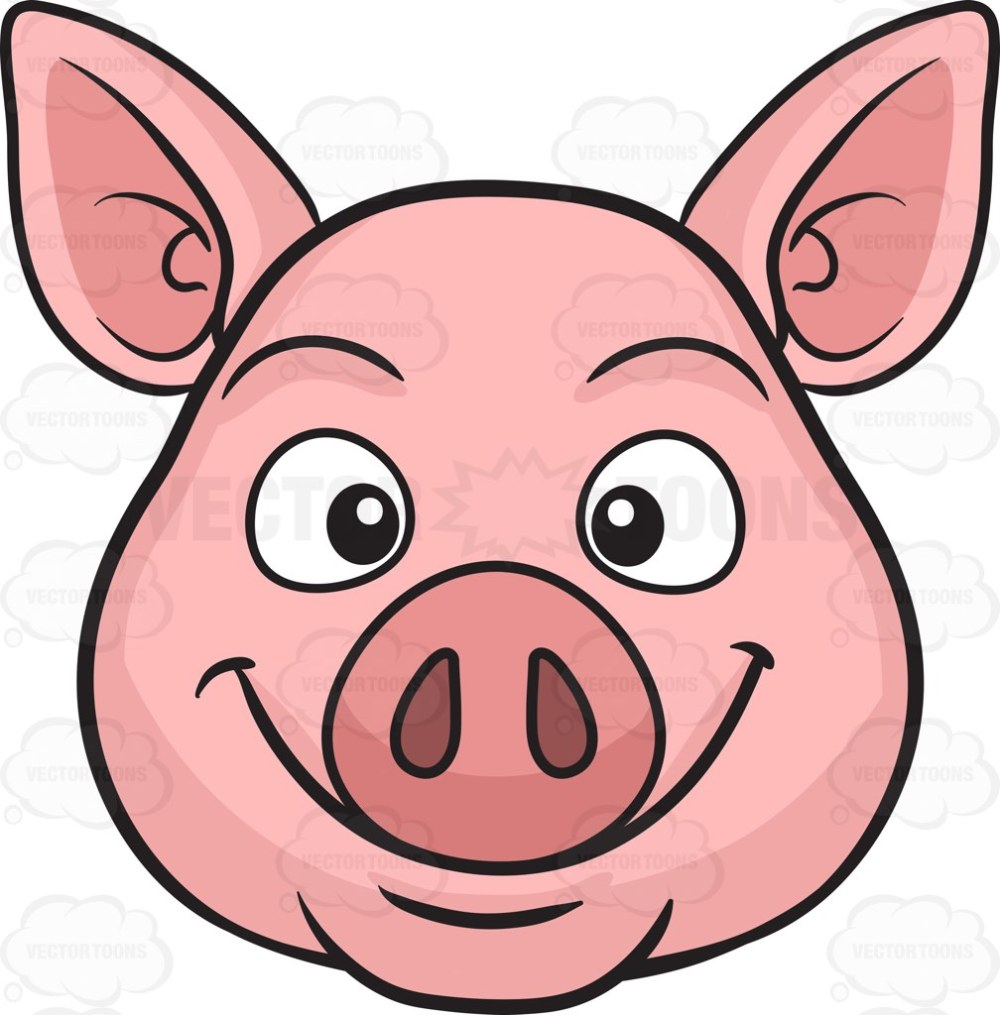 medium resolution of cute baby pig clipart