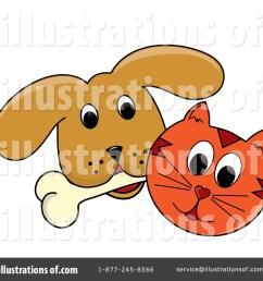 1024x1024 clip art cat and dog clip art [ 1024 x 1024 Pixel ]