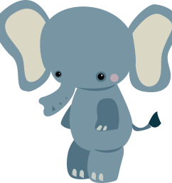 1600x1588 baby animal clipart small elephant [ 1600 x 1588 Pixel ]