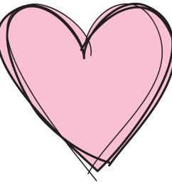2126x2126 cute pink heart clipart letters format [ 2126 x 2126 Pixel ]
