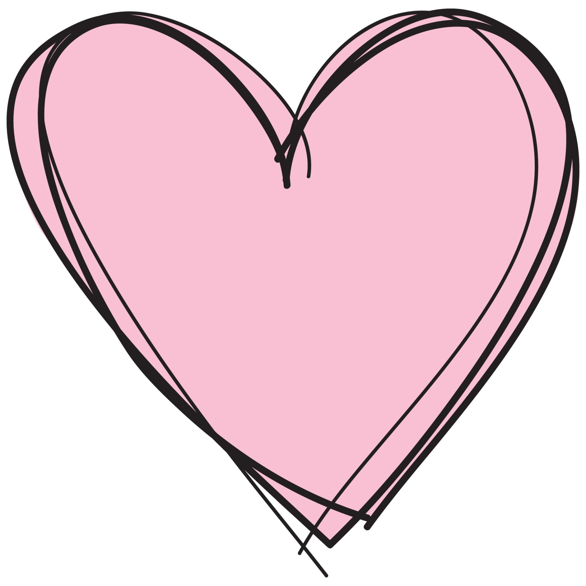 hight resolution of 2126x2126 cute pink heart clipart letters format