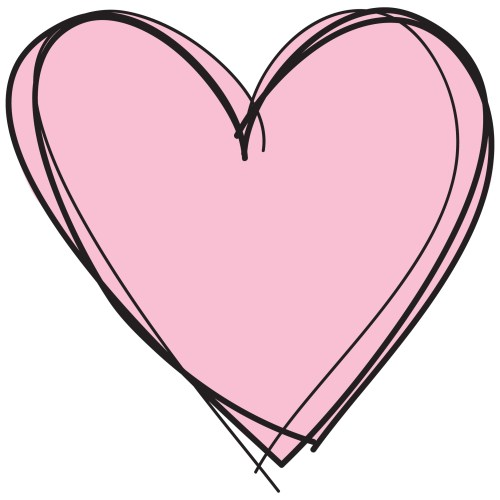 small resolution of 2126x2126 cute pink heart clipart letters format