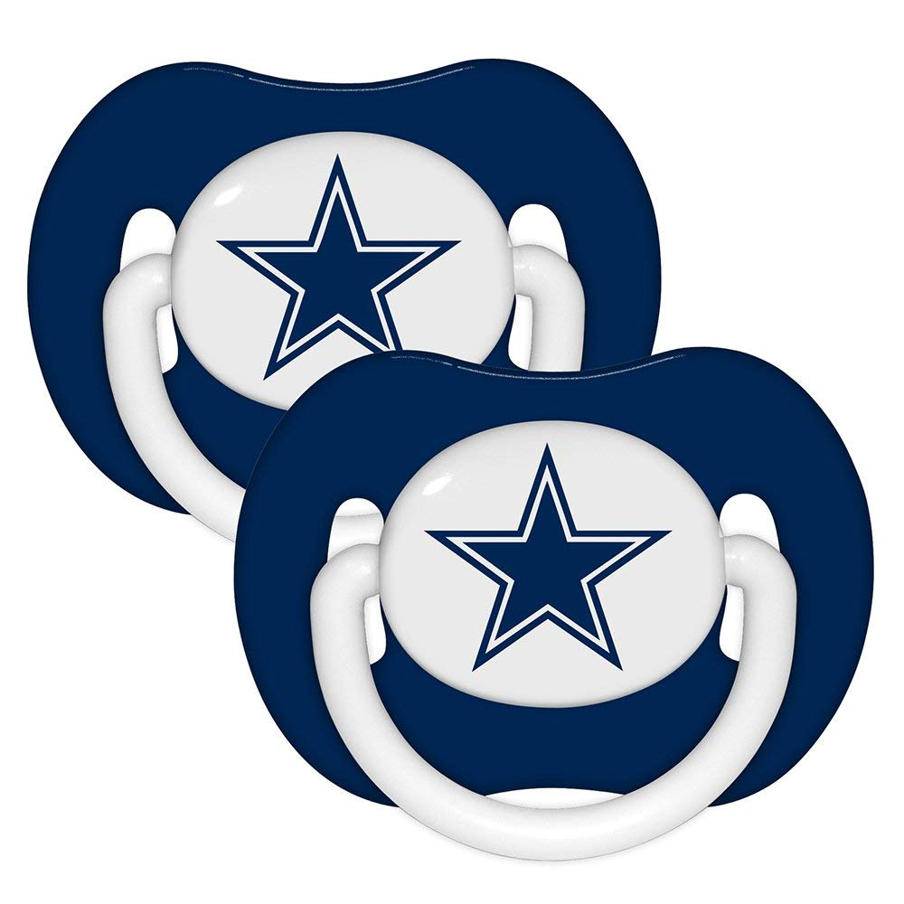 hight resolution of 1000x1000 nfl dallas cowboys 2 pack pacifier sports fan
