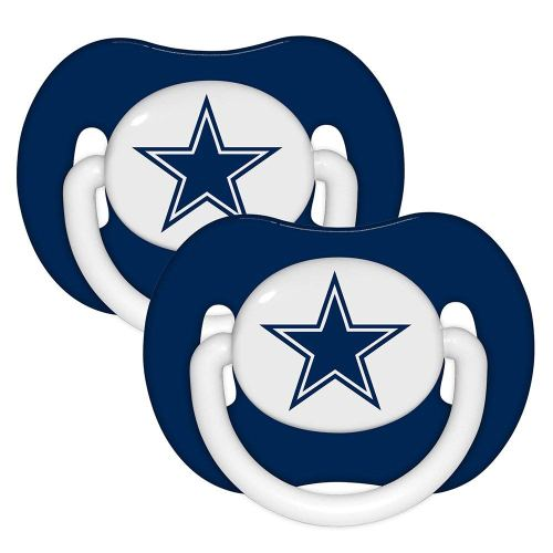 small resolution of 1000x1000 nfl dallas cowboys 2 pack pacifier sports fan