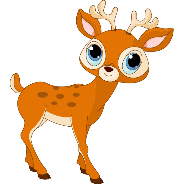 deer face clipart at
