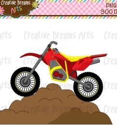 dirt bike clipart [ 1400 x 1200 Pixel ]