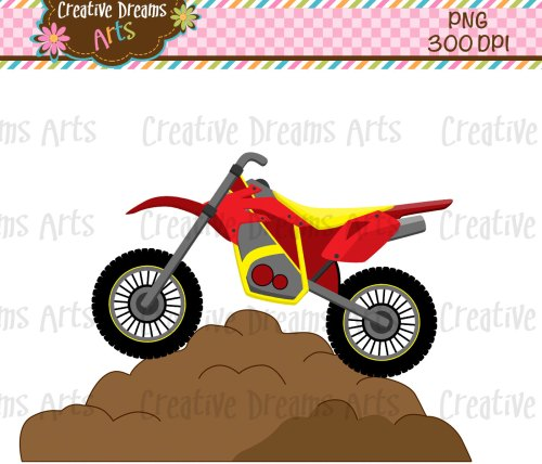 small resolution of dirt bike clipart