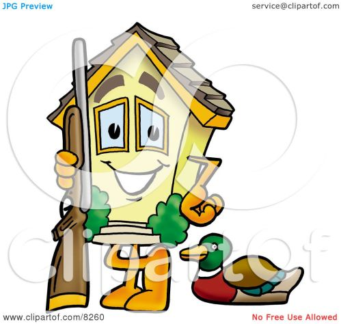 small resolution of 1080x1024 clipart picture of a house mascot cartoon character duck hunting