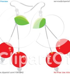 1080x1024 clipart bing cherry earrings [ 1080 x 1024 Pixel ]