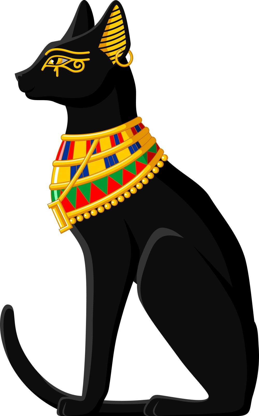 medium resolution of egyptian cat and tattoo