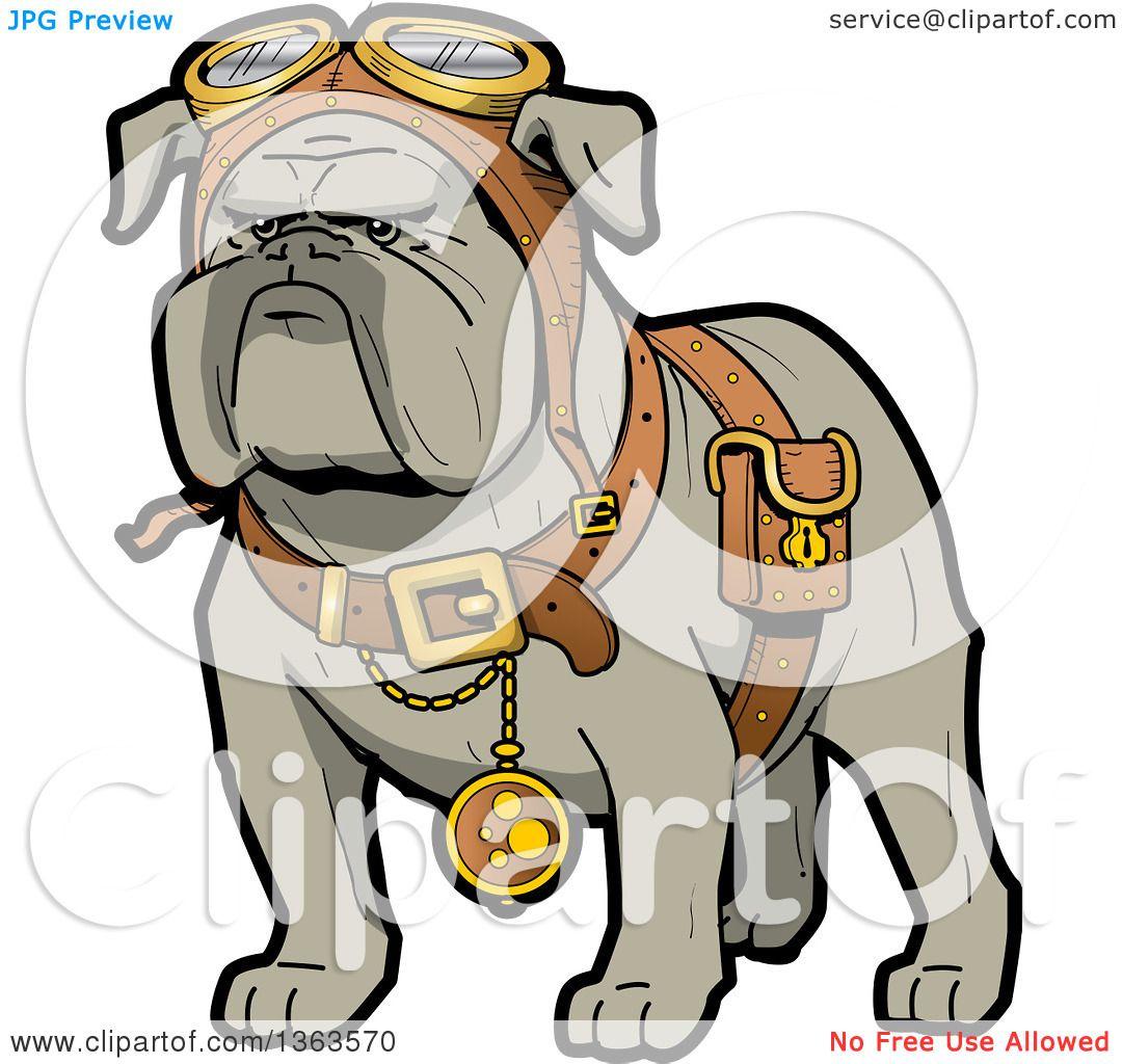 hight resolution of 1080x1024 clipart of a cartoon steampunk bulldog explorer wearing a pouch
