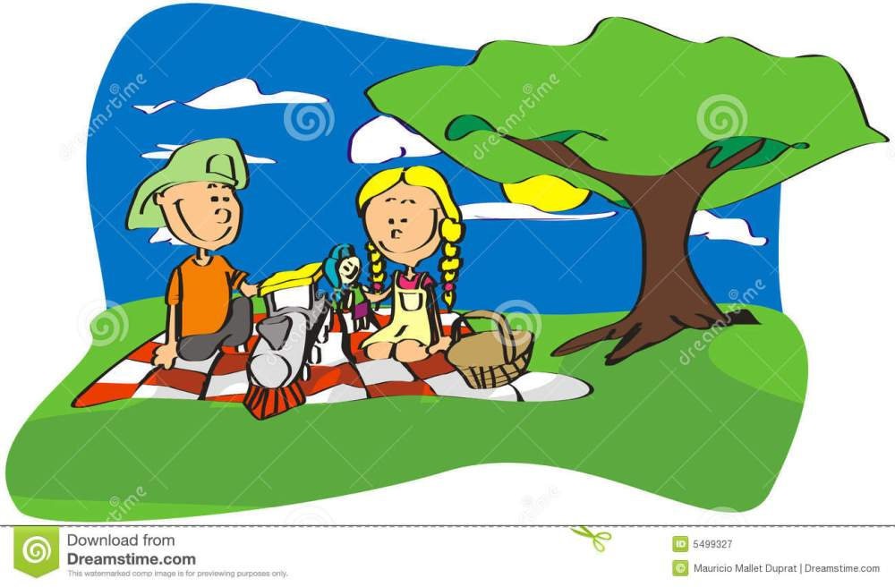 medium resolution of 1300x854 picnic in the park clipart