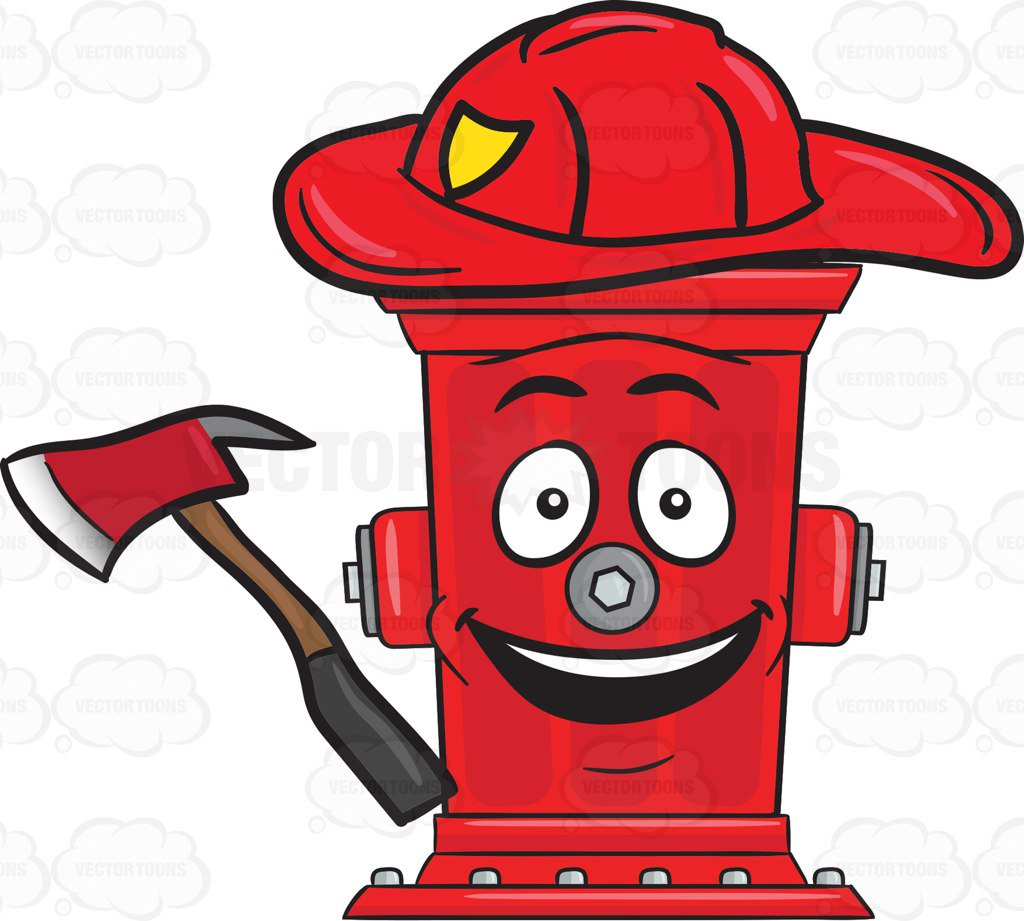 hight resolution of 1024x921 cheerful looking firefighter hydrant with axe emoji cartoon