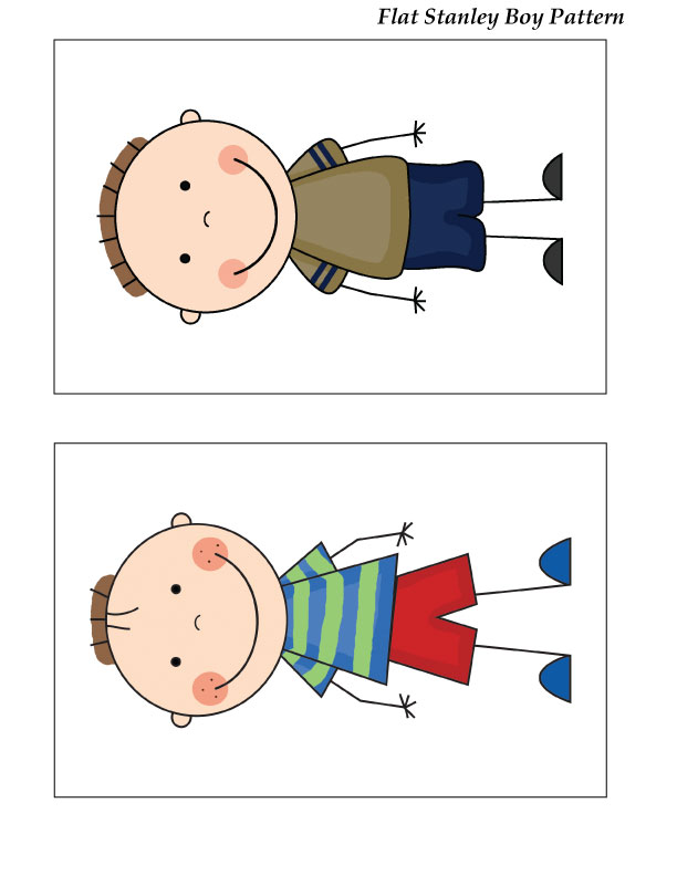 Flat Stanley Clipart at GetDrawings.com | Free for personal use Flat ...