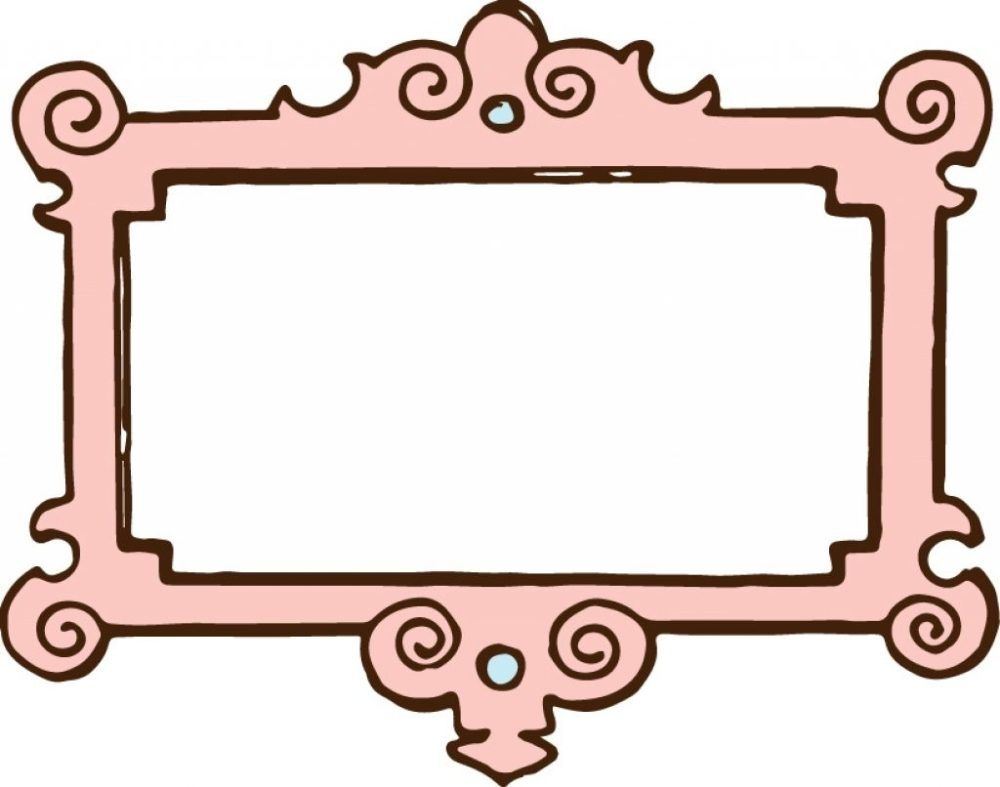 medium resolution of 1024x806 picture frame vintage border pink vintage frame clipart kid
