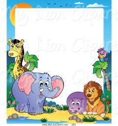 1024x1044 free clip art borders animals baby animal clipart hd letters [ 1024 x 1044 Pixel ]