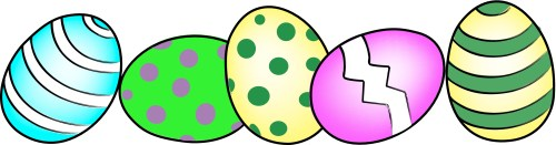 small resolution of 3300x867 free black and white easter clip art