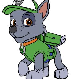 801x998 paw patrol clip art clipart panda [ 801 x 998 Pixel ]