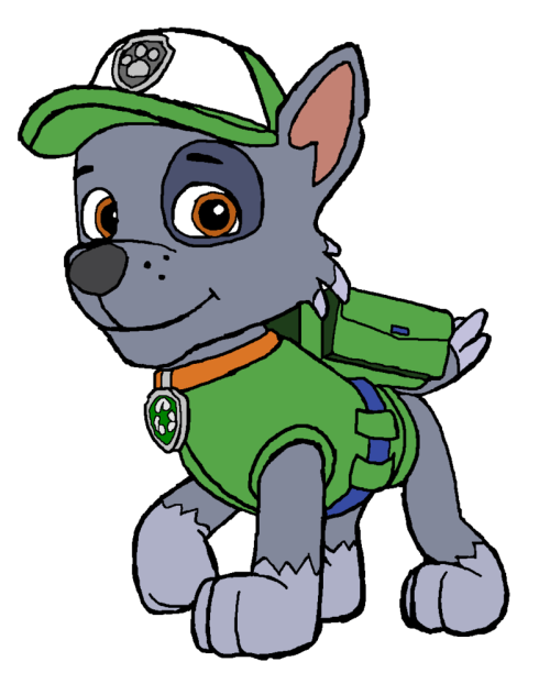 small resolution of 801x998 paw patrol clip art clipart panda