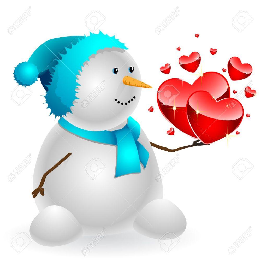 medium resolution of 1300x1300 heart clipart snowman