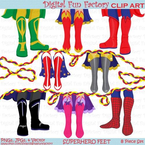 small resolution of 1500x1500 superhero clip art shoe feet superhero clipart kids clip art