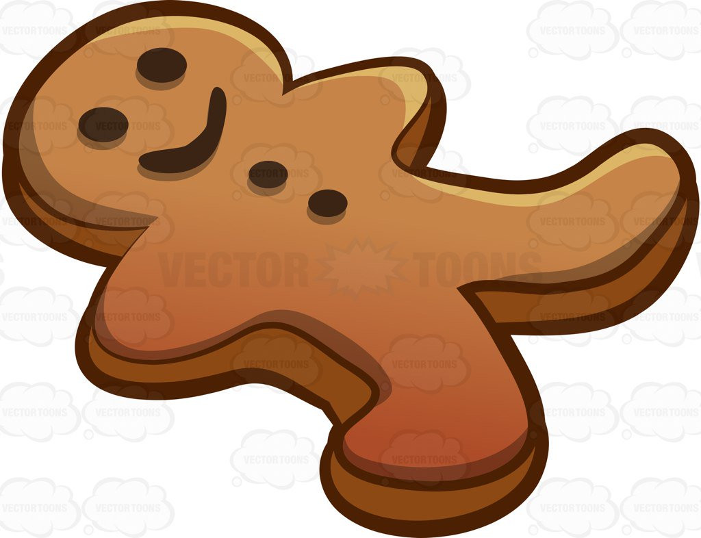 Gingerbread Boy Clipart At Getdrawings