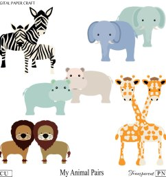 1000x1000 animal clipart elephant clipart hippo clipart giraffe clipart [ 1000 x 1000 Pixel ]